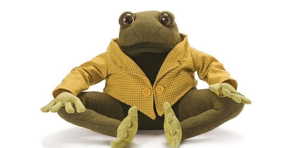 Dora Designs Lionel Frog Doorstop