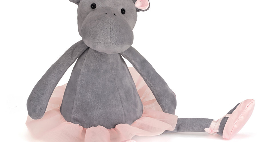 Jellycat Medium Dancing Darcy Hippo