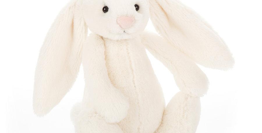 Jellycat Small Bashful Cream Bunny