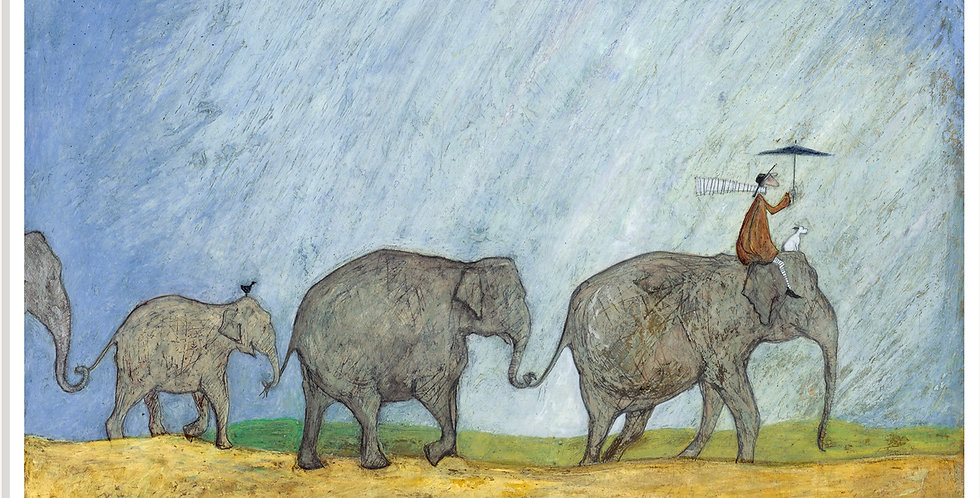 Never Forget The Way Home Signed Limited Edition Print by Sam Toft