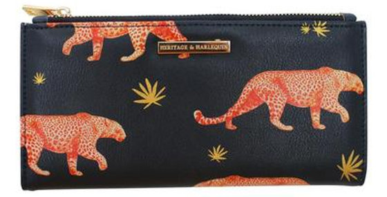 Heritage & Harlequin Leopard Wallet