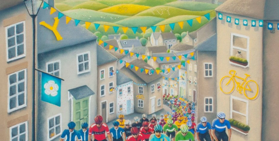 'Peddles, Passion & Glory' Signed Limited Edition Print by Lucy Pittaway