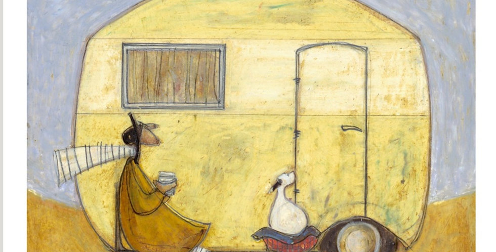 This Is The Life Signed Limited Edition by Sam Toft