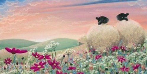 'Ladybird in the Meadow' Signed Limited Edition Print by Lucy Pittaway