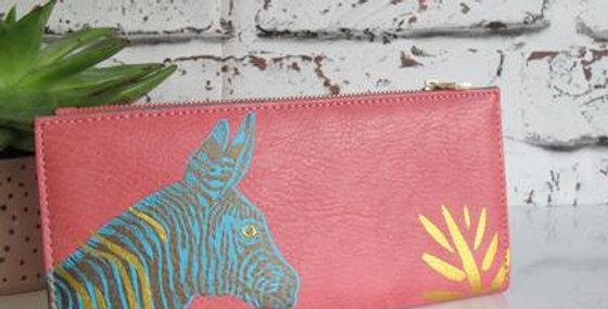 Heritage &Harlequin Zebra Wallet
