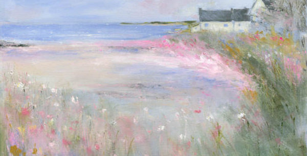 Flowers by the Sea Signed Open Print by Sue Fenlon
