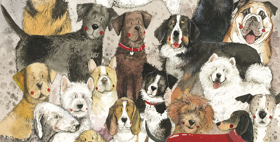 Delightful Dogs Alex Clark 2021 Calendar