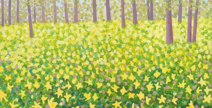 Woodland Daffodils Signed Edition Print by Susan Entwistle