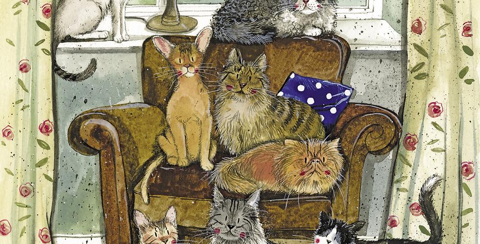Charismatic Cats Alex Clark 2021 Calendar