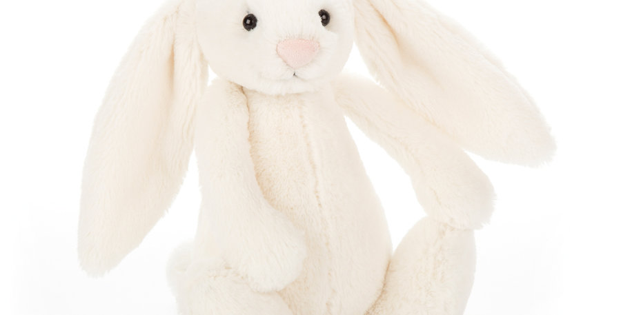 Jellycat Medium Cream Bashful Bunny