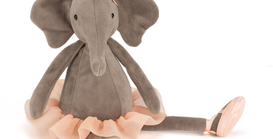 Jellycat Medium Dancing Darcy Elephant