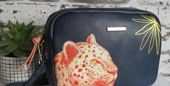 Heritage & Harlequin Leopard Mini Bag