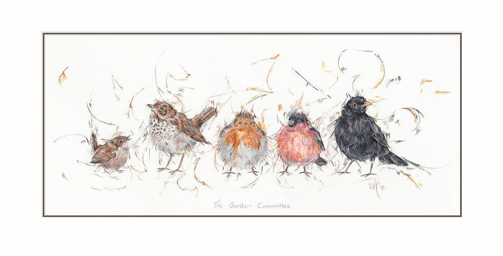 The Garden Committee Signed Limited Edition print by Aaminah Snowdon