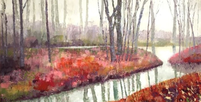 Misty Morning Signed Edition Print by Susan Entwistle