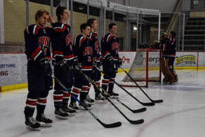 ACHA: Slippery Rock Splits Weekend with RMU, Pitt