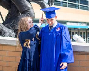 PJ Breslow Duquesne Graduation