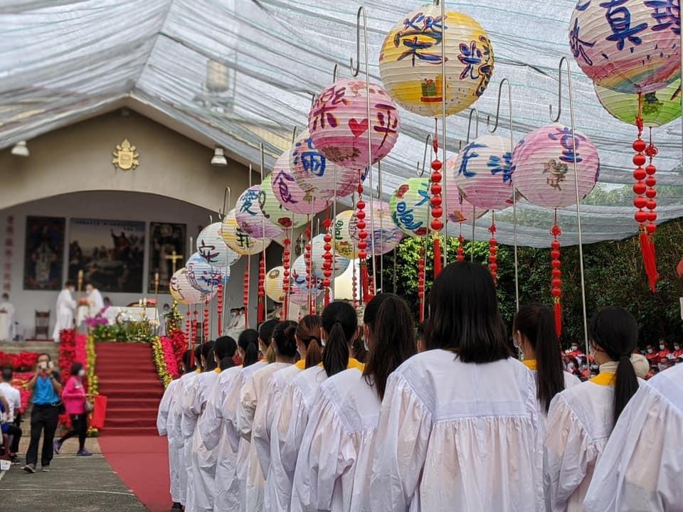 攝影者:呂家玢,圖片出處:萬金聖母聖殿FACE BOOK