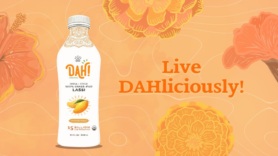 How DAH! Makes Premium Lassi Yogurt Smoothies