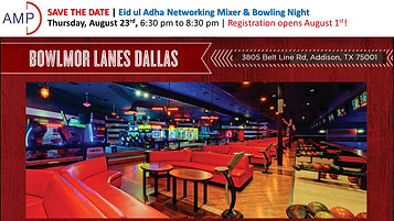 Save the Date - AMPD Q3 Eid Networking E