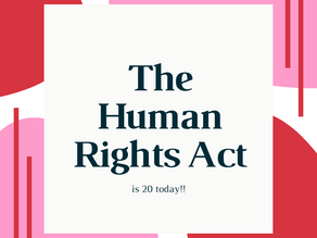 The Human Rights Act turns 20!