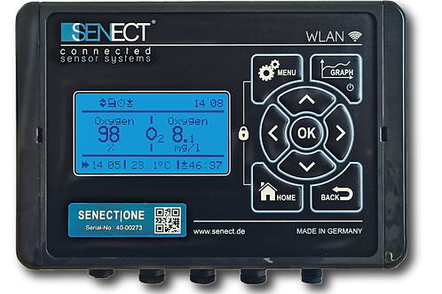 SENECT|ONE multifunctional aquaculture control unit