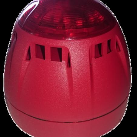 SENECT VIS-LED AK alarm light with acoustic signal