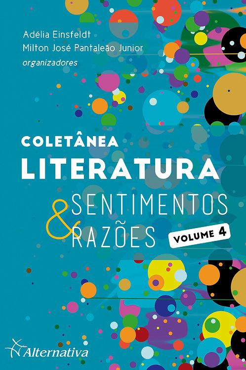 Coletânea LITERATURA: Sentimentos & Razões | Volume 4