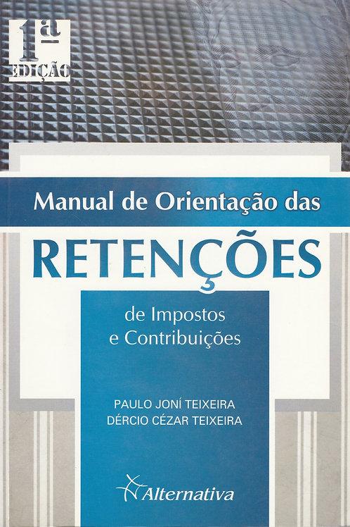 Manual de Orientação das Retenções | 1ª edição