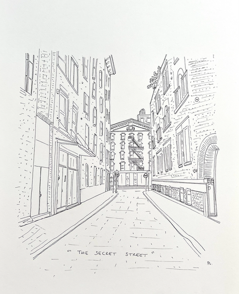 the secret street, NYC