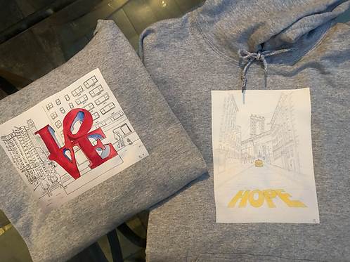 Personalized signed hoodies