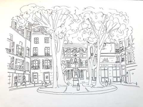 Place de Furstenberg, Paris