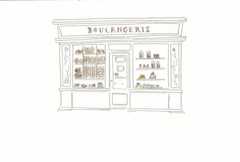 Boulangerie française - A French bakery