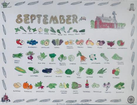 Calendar - month of September