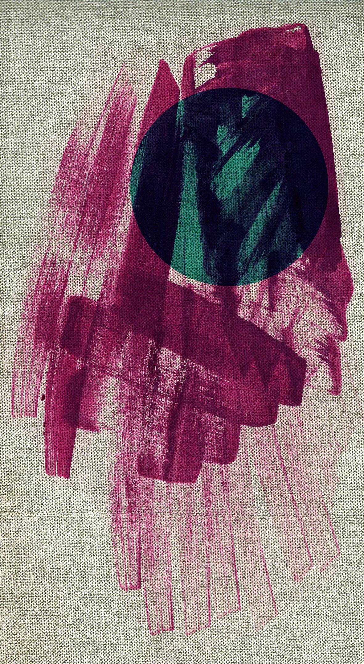 ink brush circle