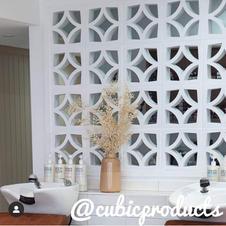 Breeze Block Wall Interior