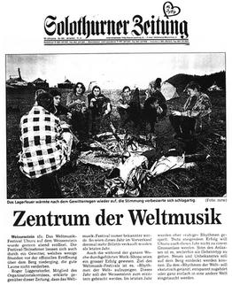 Solothurner Zeitung 1996
