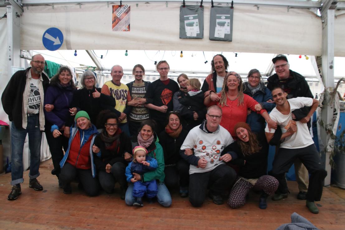 OK-Reunion zum Jubiläum: Die verschiedensten OK-Generationen vereint