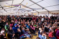 Die Teilnehmer als Mitgestalter des Festivals