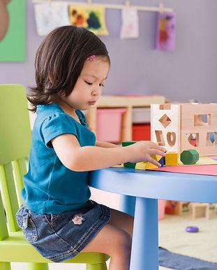 Jugando en Nursery
