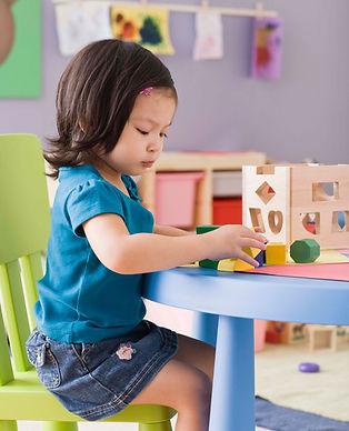 Att spela i Nursery
