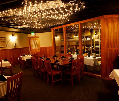 Our beautiful wine room