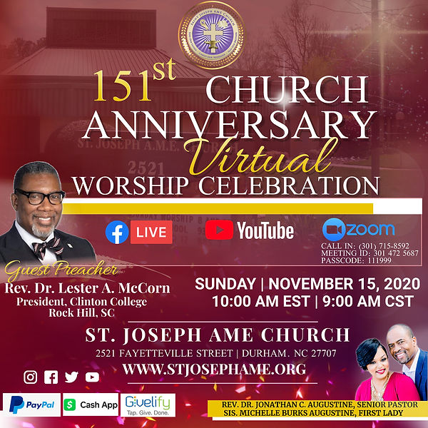 151 Church Anniversary -Sunday Worship(1