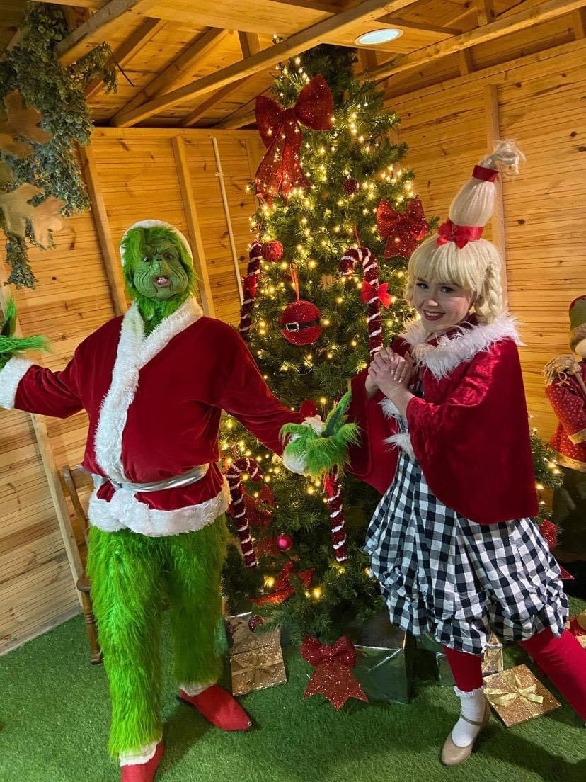 Meet & Greet The Grinch and Cindy Lou