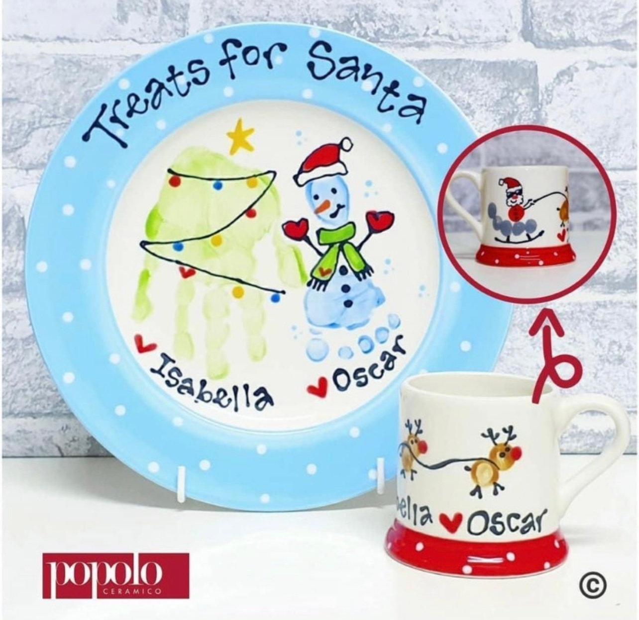 Fireflies Baby Hub with Popolo Ceramico