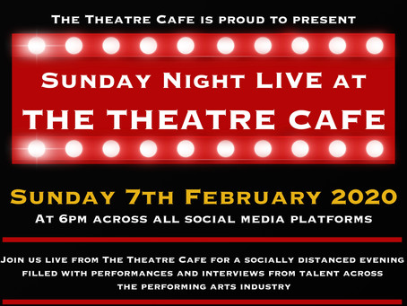 Coming Soon: Sunday Night Live At The Theatre Café