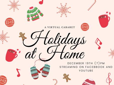 Holidays At Home: A Virtual Holiday Cabaret