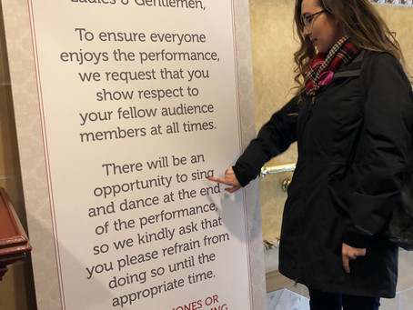How To Behave In A Theatre Without Really Trying