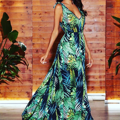 Couture Palm Dress
