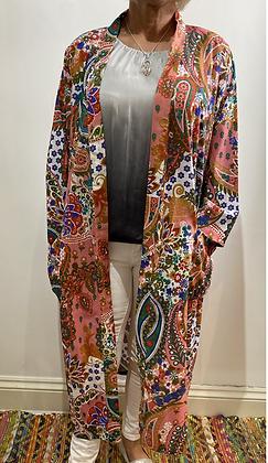 India Paisley Design Kimono or Robe