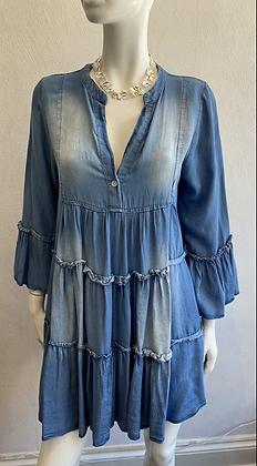Margo Denim Smock Dress